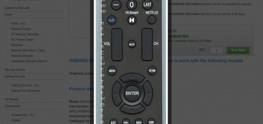 how to turn on hisense tv with remote