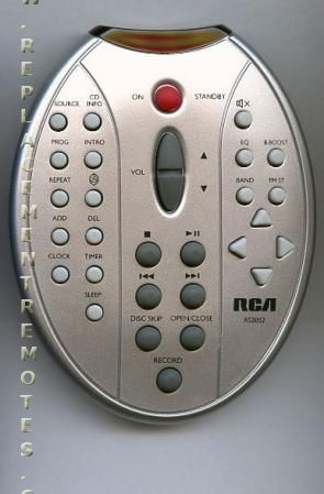 buy rca rs2052  270025 audio system remote control