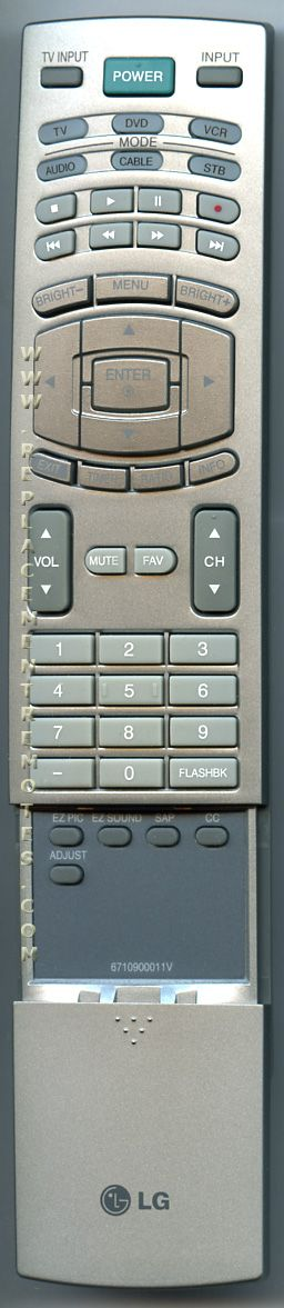buy lg 6710900011v plasma tv remote control
