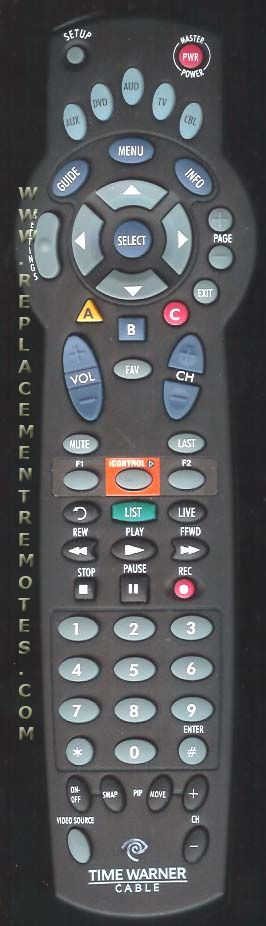 Buy Time Warner A031902 Cable Box Remote Control