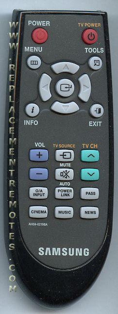 Samsung stereo remote