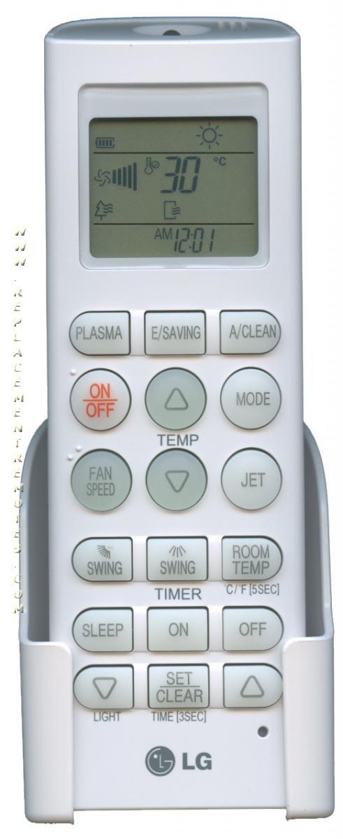 Lg Split Air Conditioner Remote Control Manual