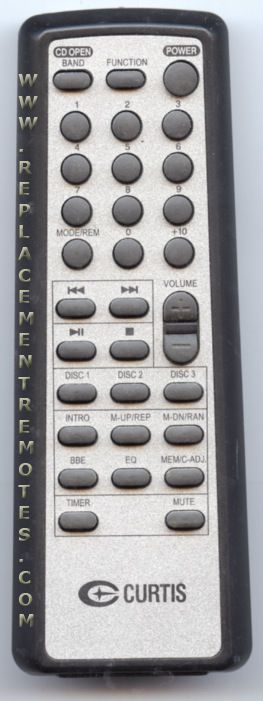 Buy Curtis Cur006 Remote Control