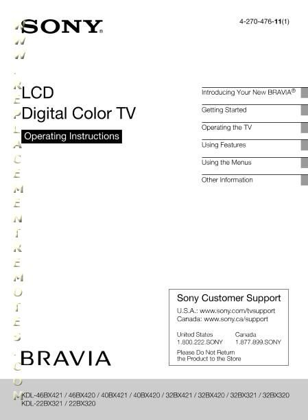 buy  download sony kdl22bx320 kdl32bx320 kdl32bx420