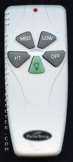 Buy Harbor Breeze Kujce9103 Fan Lighting Remote Control