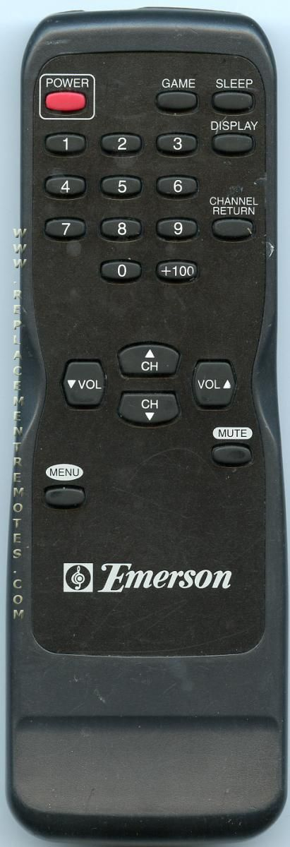 Tv remote for emerson tv