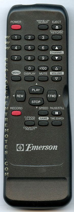 Buy Emerson N0162ud Tv  Vcr Combo Remote Control