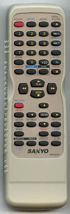 Where can i buy a sanyo remote