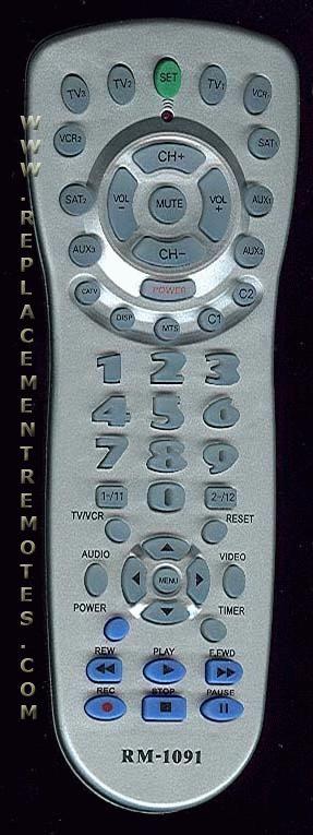 Generic universal remote
