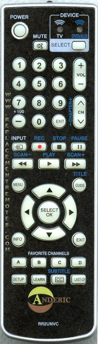 Innovage Products Universal Remote Instruction Guide