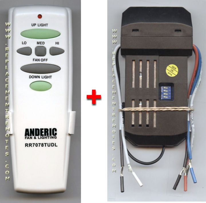 Ceiling Fans With Up And Down Lights: Buy ANDERIC Universal Up/Down Light Ceiling Fan Kit