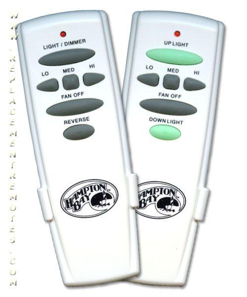 Buy Hampton-Bay UC7078TRUDL DUALPACK -UC7078TRUDL Ceiling Fan Remote Control