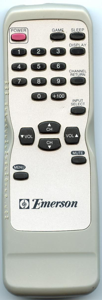 Buy EMERSON NE116UD TV Remote Control