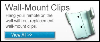 Remote Wall Mount Clips