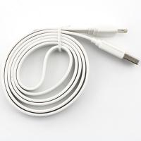 White 8pin Flat Sync Cable for Apple/isc5whi