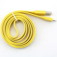 Yellow 8pin Flat Sync Cable for Apple/isc5yel
