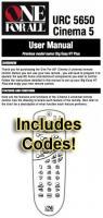 URC5650 & Codes