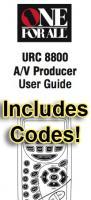 URC8800 & Codes/URC8800OM