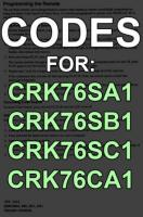 CRK76 Series CodesOM