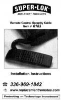 RemoteLok InstructionsOM