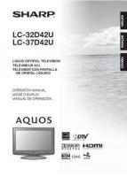 LC37D42UOM