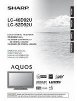 LC52D92UOM