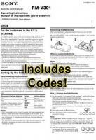 RMV301 & CodesOM