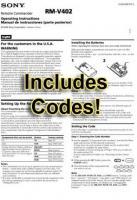RMV402 & CodesOM