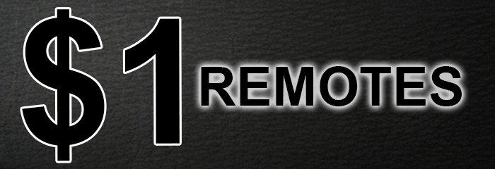 $1.00 remotes
