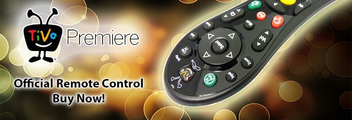 Tivo Premiere Remote Control