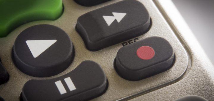remote control play button