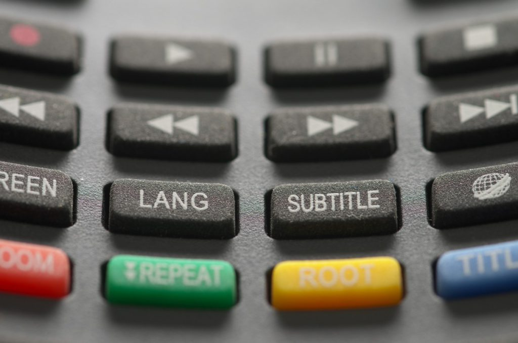 remote controls with small buttons
