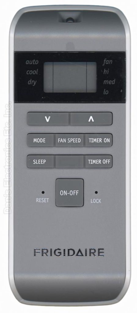 frigidaire remote control