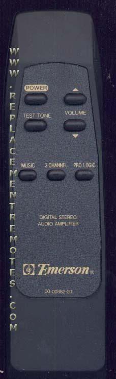 EMERSON 000088200 Remote Control