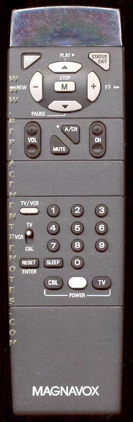 Magnavox 00M143AAAA02 TV Remote Control