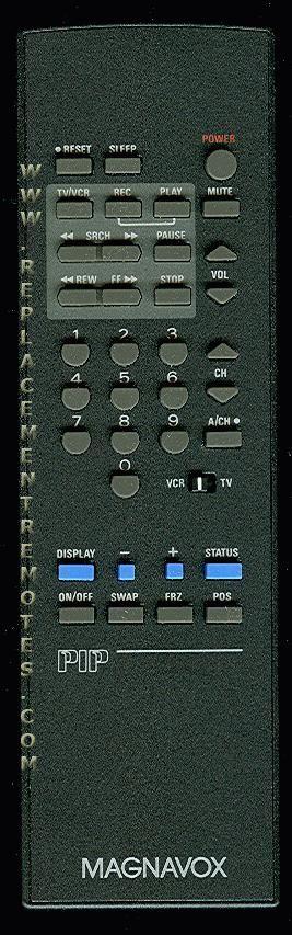 Magnavox 00M0627BAA01 TV Remote Control