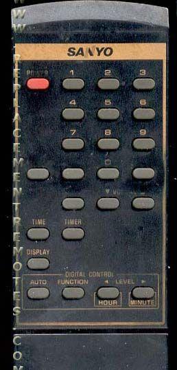 SANYO 011M0355XA Remote Control