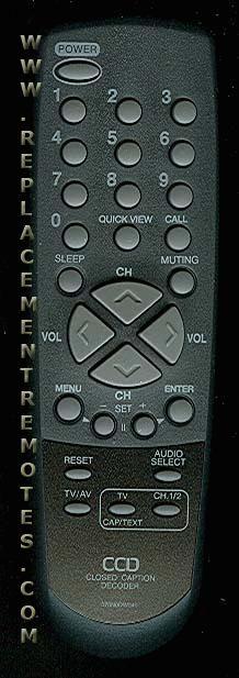 INSIGNIA 076N0DW040 Remote Control