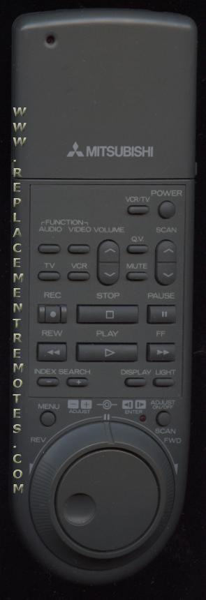 MITSUBISHI 1001 VCR Remote Control