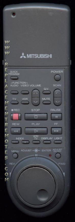 MITSUBISHI 1008 VCR Remote Control