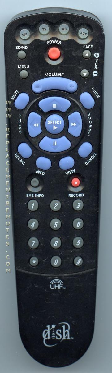 Dish-Network 103781 Satellite Receiver Remote Control
