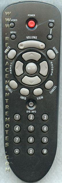 Dish-Network 105266 Satellite Receiver Remote Control