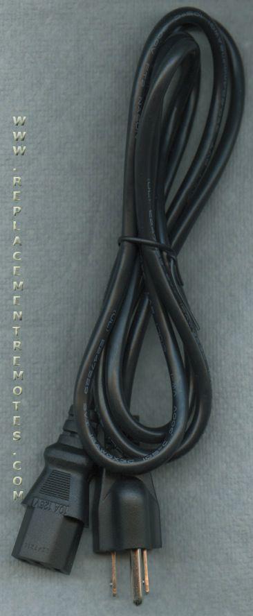 VIORE 117010006 TV AC Power Cord