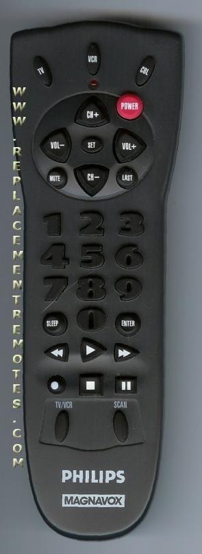Philips-Magnavox 483521917352 Remote Control