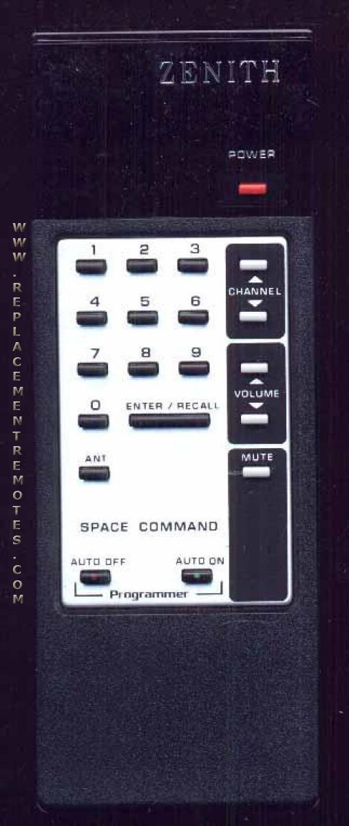 ZENITH 1245501 Remote Control