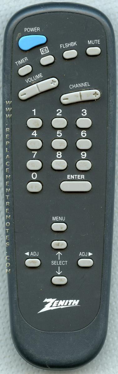 Buy Zenith 124 213 124213 12421301 Tv Remote Control