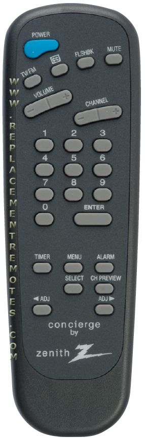 ZENITH LP702 Master Commercial TV Remote Control