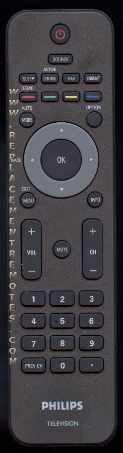 PHILIPS YKF230001 TV Remote Control