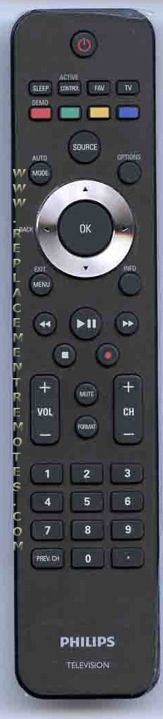 PHILIPS 242254902349 TV Remote Control