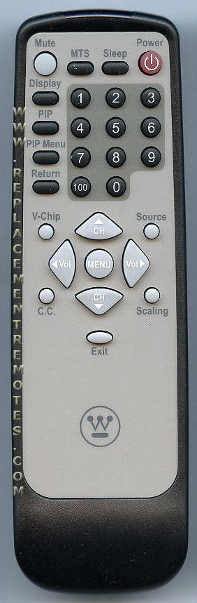 Westinghouse 27D001444 TV Remote Control